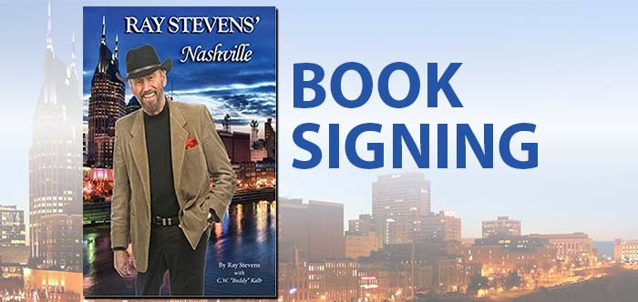 Barnes & Noble Invites Ray Stevens for Book Signing in Tennessee
