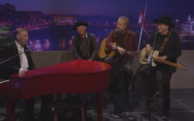 Jimmy Fortune, Charlie McCoy, Don Schlitz and Bobby Bare