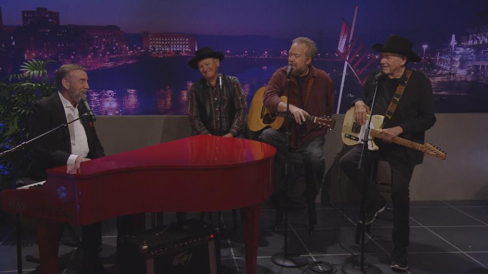 Jimmy Fortune, Charlie McCoy, Don Schlitz and Bobby Bare