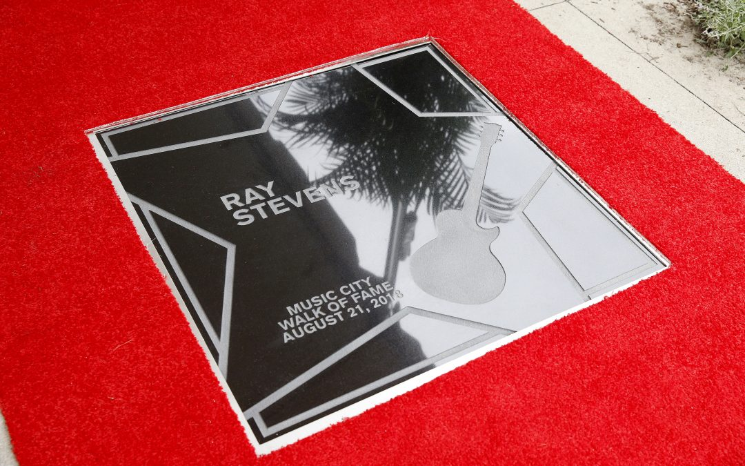 RAY STEVENS RECEIVES STAR ON NASHVILLE'S MUSIC CITY WALK OF FAME
